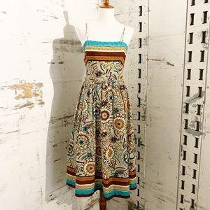 David Meister Fit & Flare Spaghetti Strap Dress 2